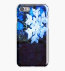 snowflake in blue 2 iPhone Case/Skin