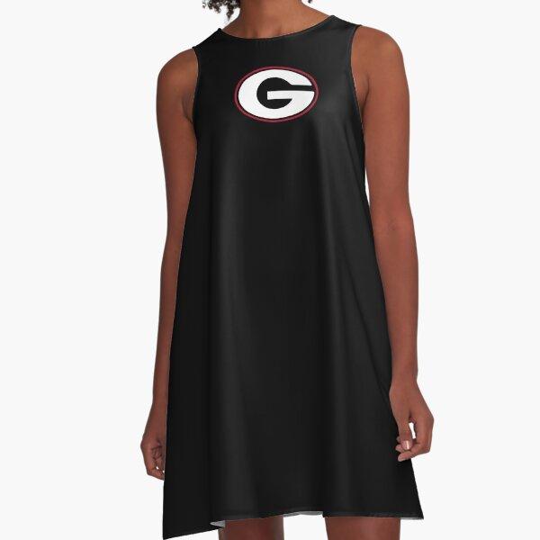 BEST SELLER - Uga Bulldogs Logo Merchandise A-Line Dress