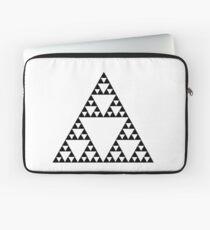 Sierpinski Triangle Fractal Math Art Laptop Sleeve