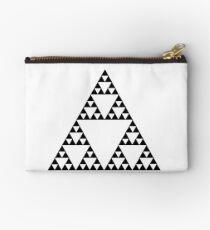 Sierpinski Triangle Fractal Math Art Studio Pouch