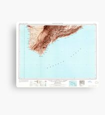 USGS TOPO Map Hawaii HI Hawaii South 349924 1961 250000 Metal Print