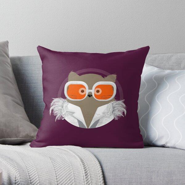 Cat Elton Throw Pillow