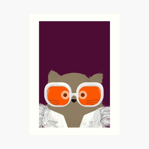 Cat Elton Art Print