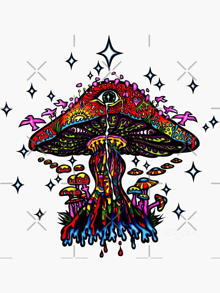 Eye Mushroom by sandersart