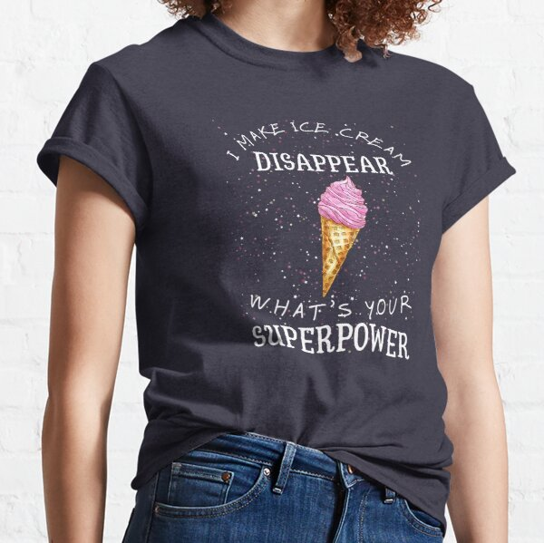 I Make Ice Cream Disappear Whats Your Superpower Kid/'s Sweatshirt