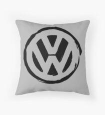VW peace Throw Pillow