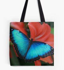 Blue Morph Tote Bag