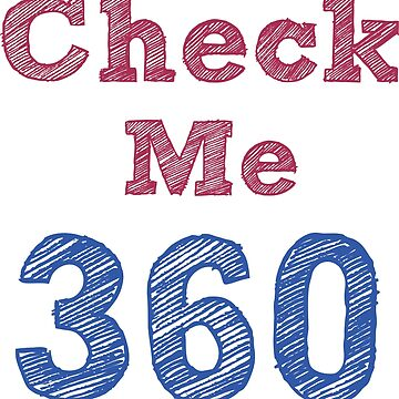 Check Me 360 - textwork by grfxpro