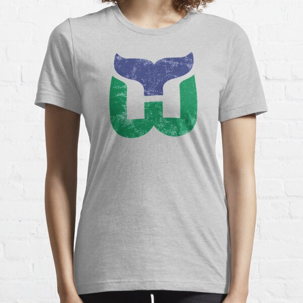 Hartford Whalers Distressed Logo - Defunct Hockey Team - 1979-1997 Expansion Team for Connecticut - Strike Up The Brass Bonanza Essential T-Shirt