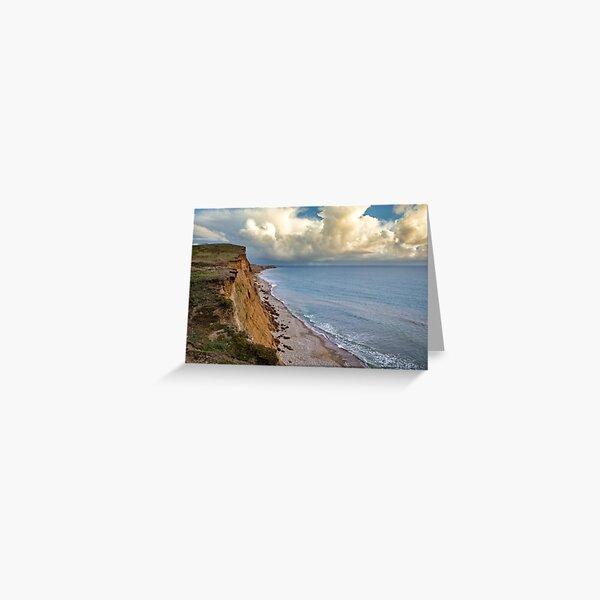 Compton Bay Isle Of Wight Greeting Card