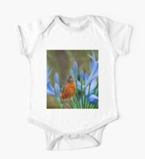 Robin in flowers Kids Clothes