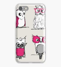 Little Owl Collection iPhone Case/Skin