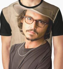 Johnny Depp Cool Graphic T-Shirt