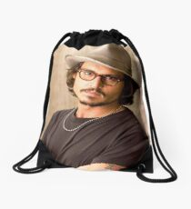 Johnny Depp Cool Drawstring Bag