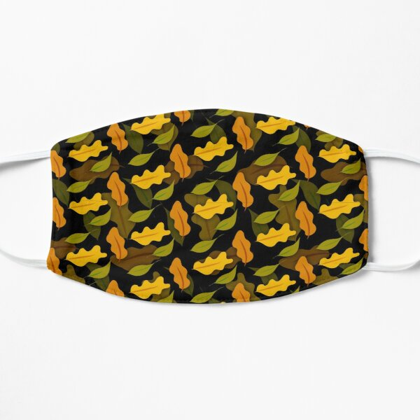 Leaves camouflage pattern  Flat Mask
