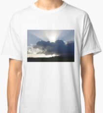 Crocodile Clouds, Sunrays and Mt.Bartle Frere, FNQ. Classic T-Shirt