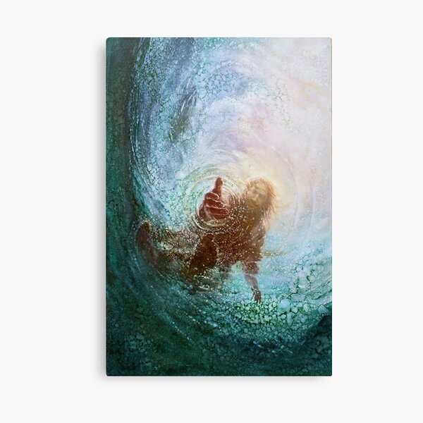 The Hand Of God Canvas Print