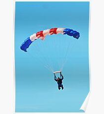 RAF Falcons display team Poster