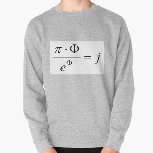 What comes first - idea or matter? This mathematical relationship provides an answer to this question. Pullover Sweatshirt