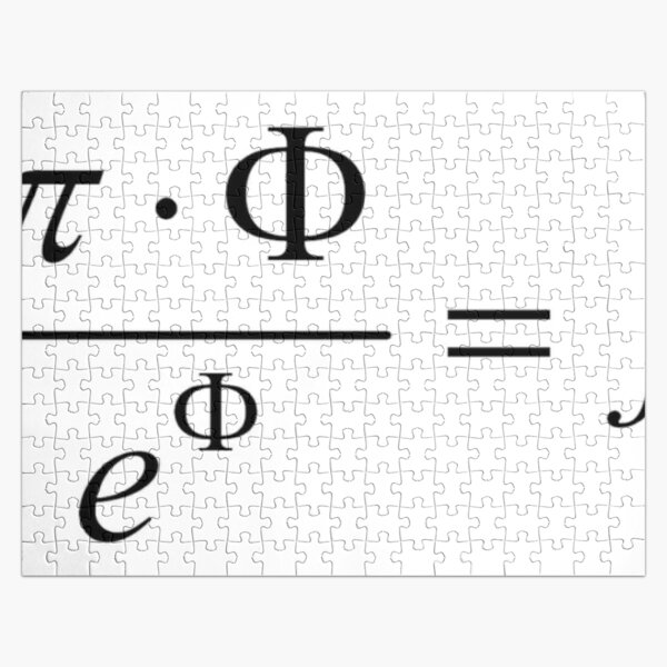 What comes first - idea or matter? This mathematical relationship provides an answer to this question. Jigsaw Puzzle