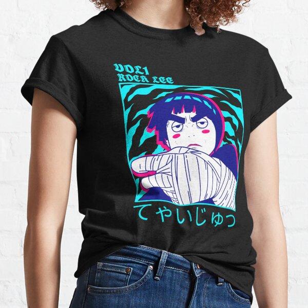 R-ock Lee ivre T-shirt classique
