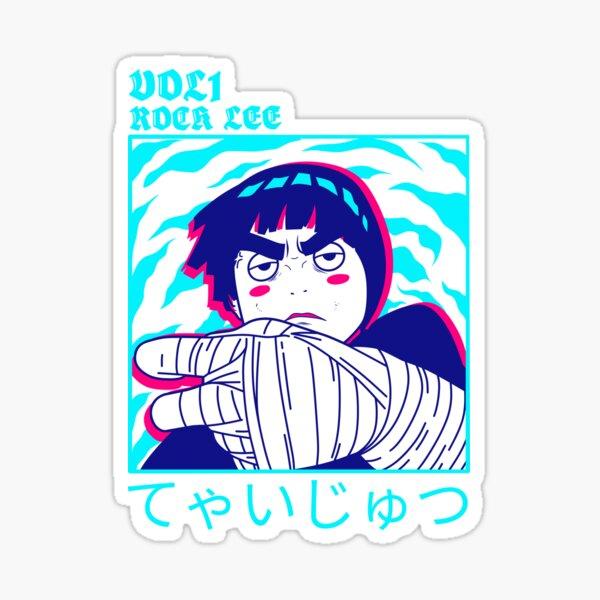 R-ock Lee ivre Sticker