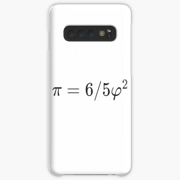 Why is there such a simple relationship between π and φ: π = 6/5 φ² ? Samsung Galaxy Snap Case