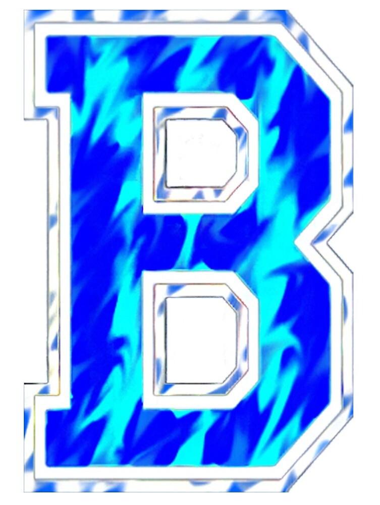 barnard college letter b design 1 by taybogdan