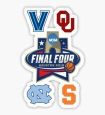 NCAA Men's Basketball Final Four 2016 Sticker