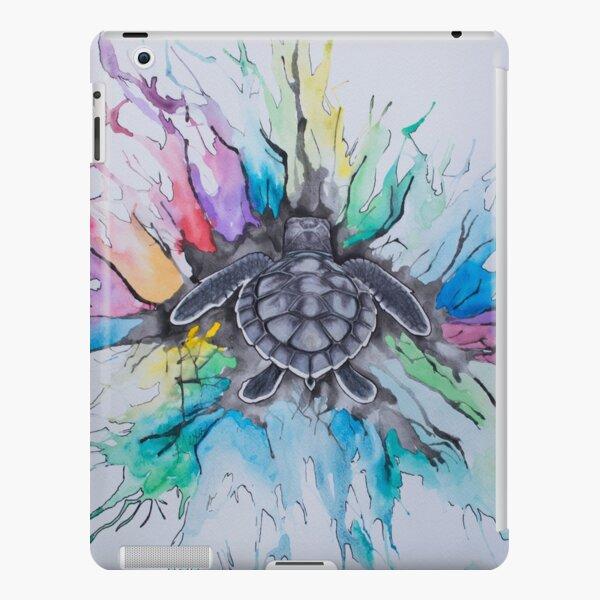 A splash of Rainbow  iPad Snap Case