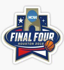 NCAA Men's Basketball March Madness Final Four Houston 2016 Sticker