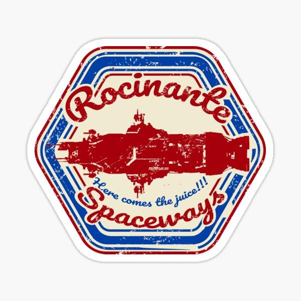 ROCINANTE SPACEWAYS Sticker