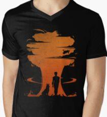 Nuclear war Men's V-Neck T-Shirt