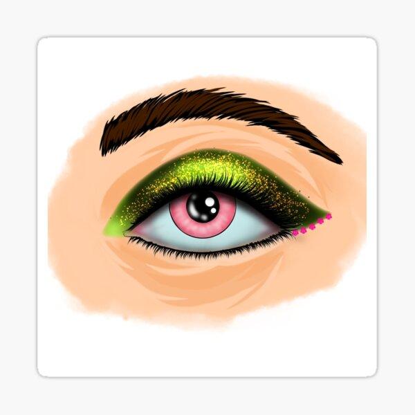 Eye of Universe Sticker