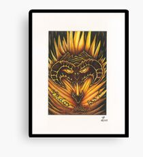 Shadow and Flame Canvas Print
