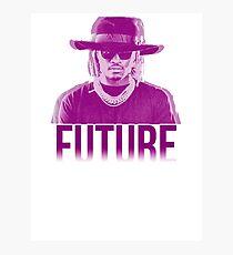 Purple Future Photographic Print