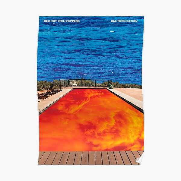 CALIFORNIATION , A3 size extended album cover Poster