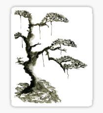 Chinese pine, a symbol of longevity Sticker