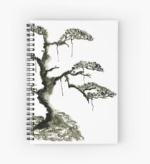 Chinese pine, a symbol of longevity Spiral Notebook