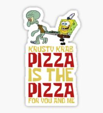 Krusty Krab Pizza - Spongebob Sticker