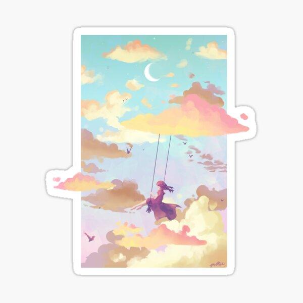 Sky swing (day) Sticker