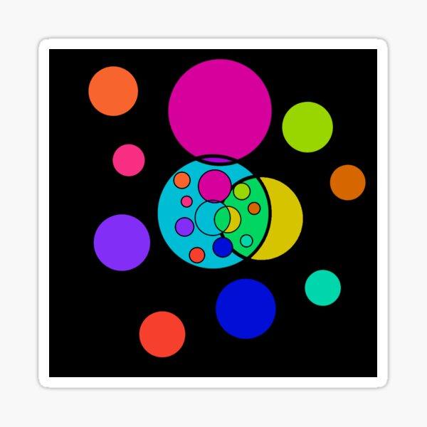 Nish Colourful Sticker