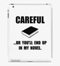Careful Novel iPad Case/Skin