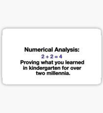 Numerical Analysis Sticker