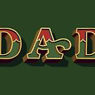 "December Green - ""Dad"" mug by Carter & Rickard"