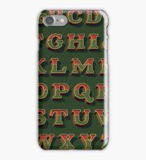 December Green iPhone Case/Skin