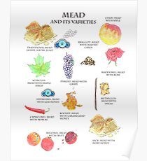 Mead and It's Varieties Poster