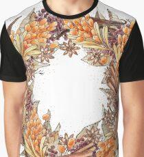 Sea Buckthorn Graphic T-Shirt