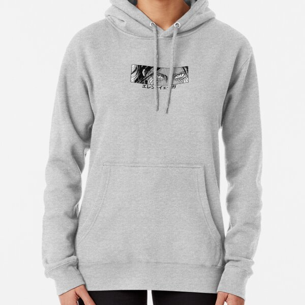 Eren Yeager - Attack On Titan  Pullover Hoodie