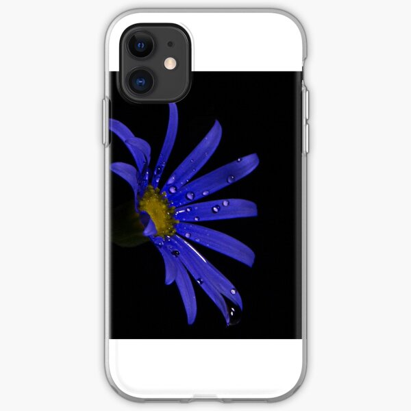 Blue Daisy iPhone Soft Case